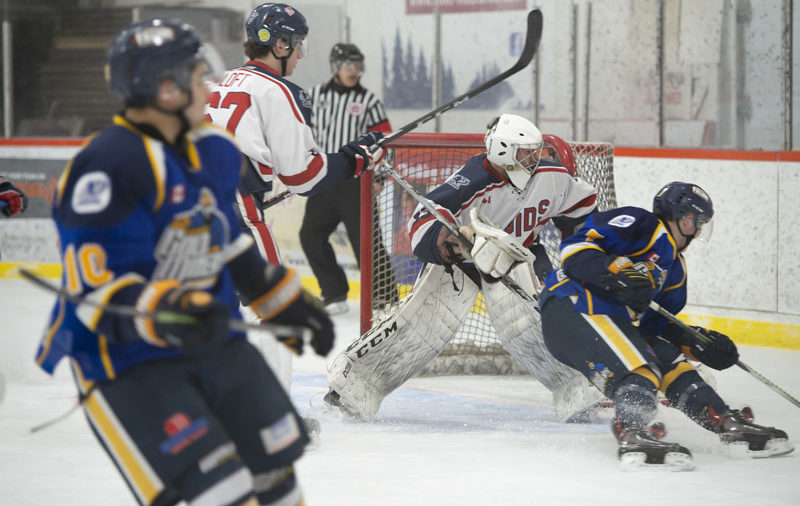GALLERY: Brassard's 4-point performance leads Kirkland Lake over French River